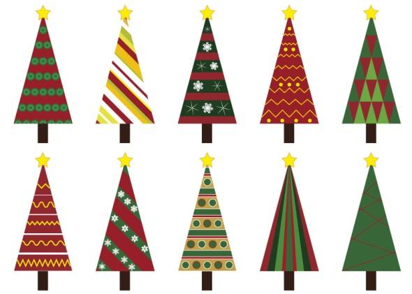 10 alberi di Natale - Christmas Trees