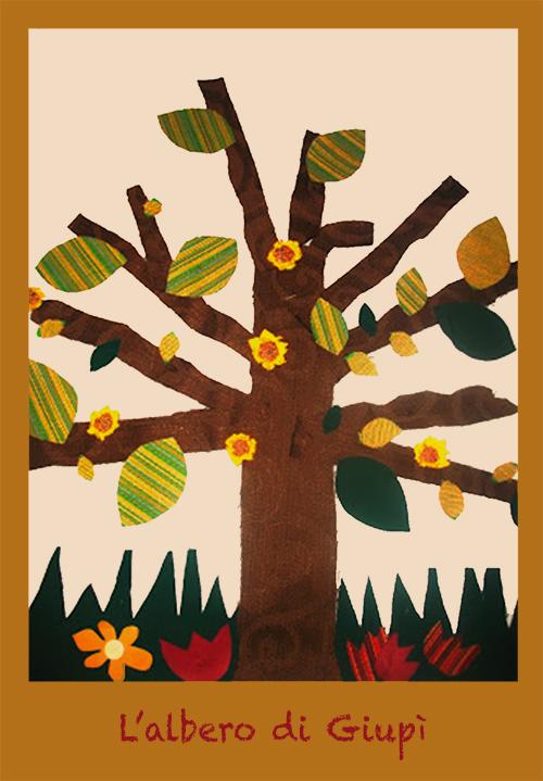 albero di stoffa